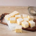 Vanilla and Passion fruit marshmallows